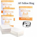 AF-ET Yellow Tension Ring Crystals Assortment (18.0~33.0mm by 0.5mm Increments) Total 31 PCs