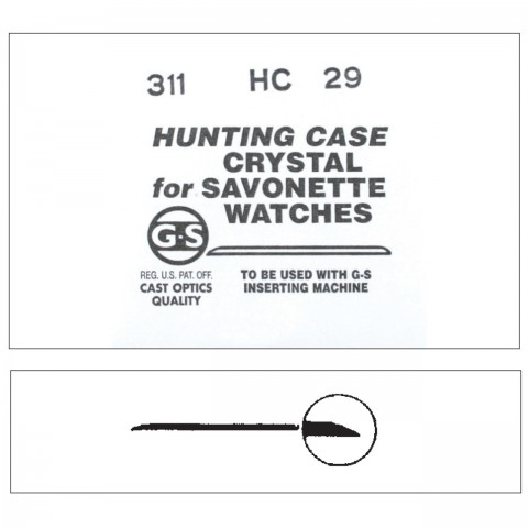 HC (G-S) Hunting Case Crystals