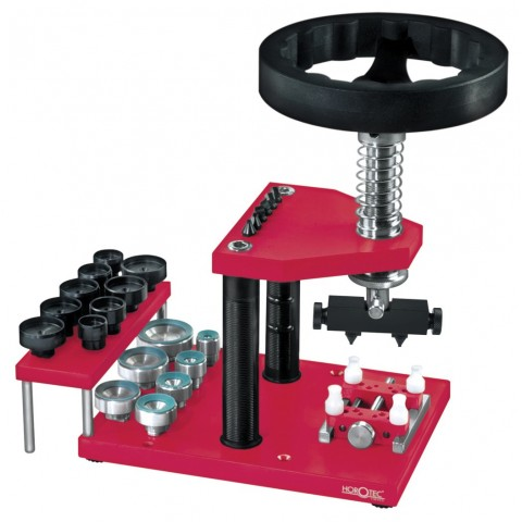Horotec Deluxe Press for Open and Close Screw Backs Safely and Easily