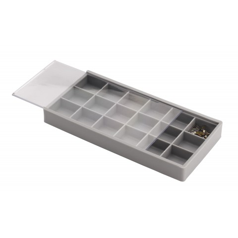 Compartment Trays with Sliding Lids