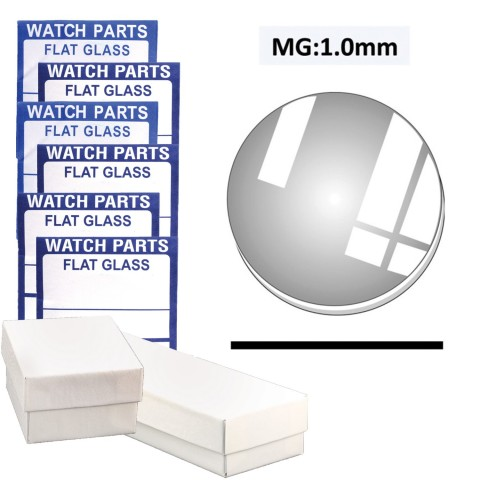 MG: 1.0mm Thickness, (15.0~34.0mm) Set of 115 PCs.