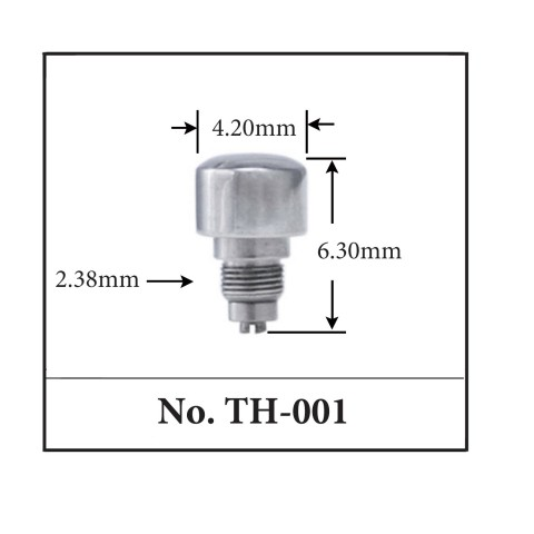 Generic Pusher for TAG. 4.20mm x 6.30mm x 2.38mm