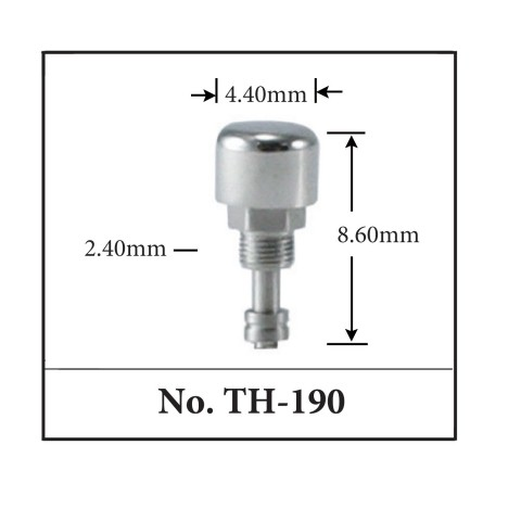 Generic Pusher for TAG. 4.40mm x 8.40mm x 2.40mm