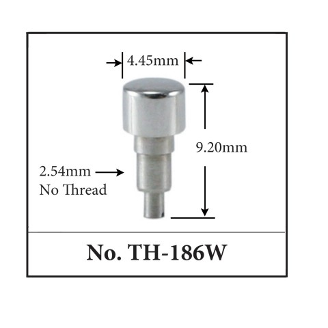 Generic Pusher for TAG. 4.45mm x 9.20mm x 2.54mm No Thread