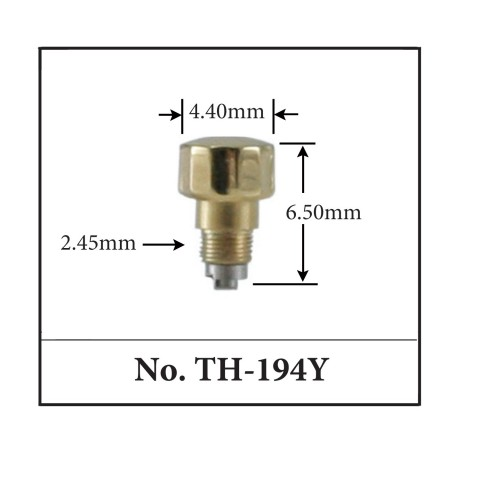 Generic Pusher for TAG. 4.40mm x 6.50mm x 2.45mm