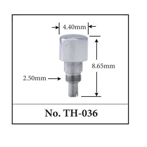 Generic Pusher for TAG. 4.40mm x 8.65mm x 2.50mm