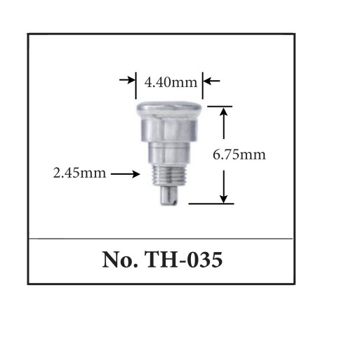 Generic Pusher for TAG. 4.40mm x 6.75mm x 2.45mm