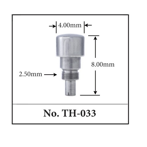 Generic Pusher for TAG. 4.00mm x 8.00mm x 2.50mm