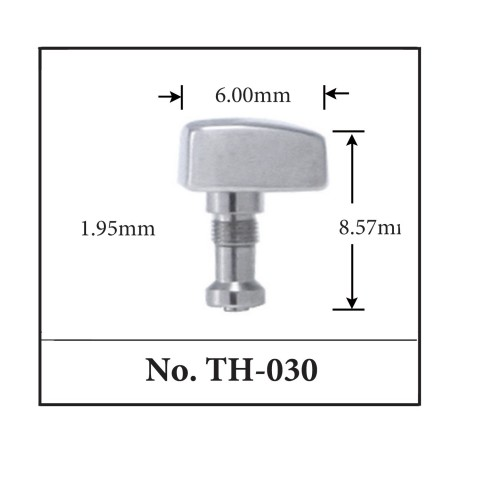 Generic Pusher for TAG. 6.00mm x 8.57mm x 1.95mm