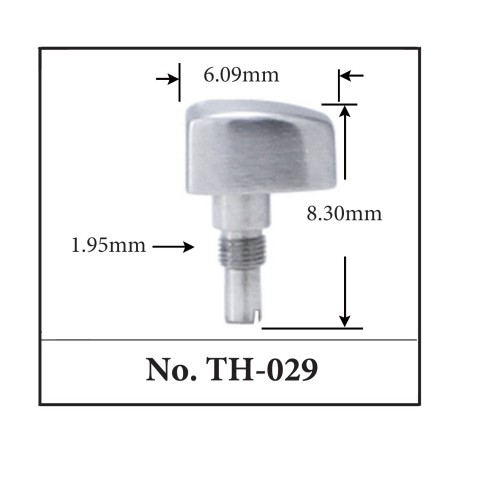 Generic Pusher for TAG. 6.09mm x 8.30mm x 1.95mm
