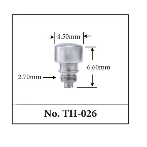 Generic Pusher for TAG. 4.50mm x 6.60mm x 2.70mm