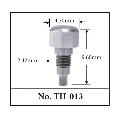 Generic Pusher for TAG. 4.70mm x 9.60mm x 2.42mm