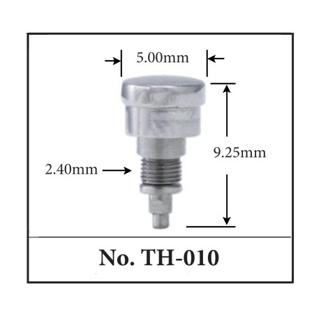 Generic Pusher for TAG. 5.00mm x 9.25mm x 2.40mm