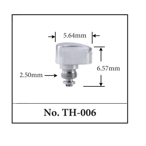 Generic Pusher for TAG. 5.64mm x 6.57mm x 2.50mm