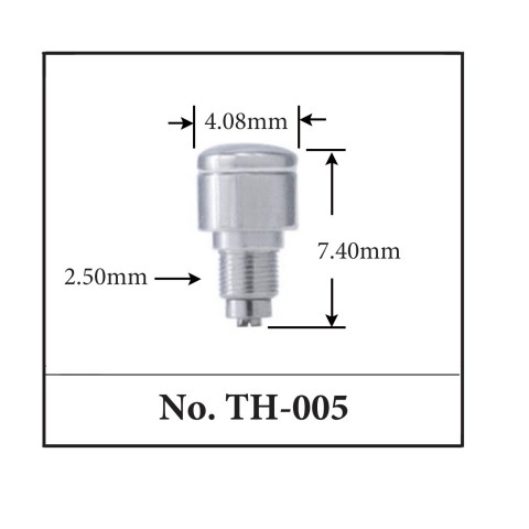 Generic Pusher for TAG. 4.08mm x 7.40mm x 2.50mm