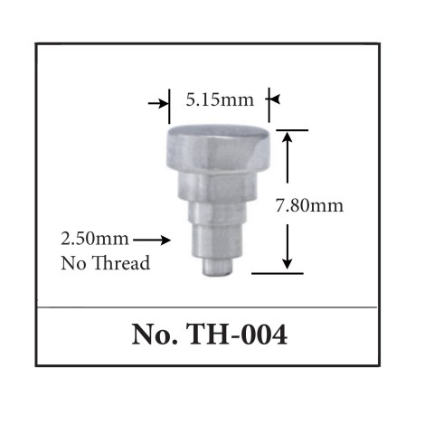 Generic Pusher for TAG. 5.15mm x 7.80mm x 2.50mm No Thread