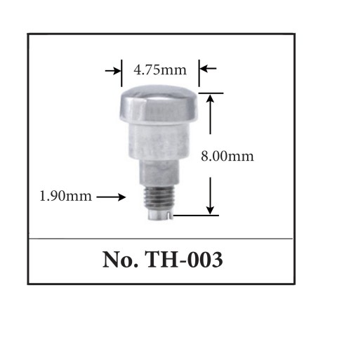 Generic Pusher for TAG. 4.75mm x 8.00mm x 1.90mm