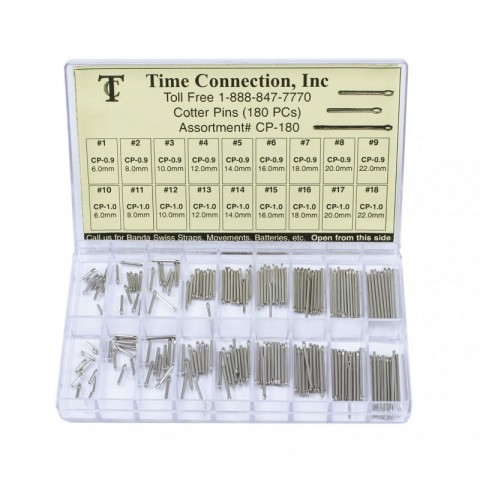 Cotter Pins Thickness 0.9 & 1.0mm (8.0~24.0mm)