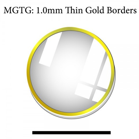 MGTG: 1.0MM Thin Gold Boarders
