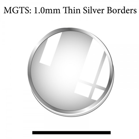 MGTS: 1.0MM Thin Silver Boarders